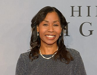 Stephanie Wilson - Wilson at a celebration for the movie Hidden Figures in New York in 2016.