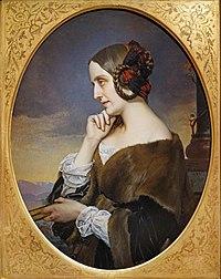 """""""Marie de Flavigny"""" de Henri Lehmann (Petit Palais, Paris) (48740090161).jpg"""