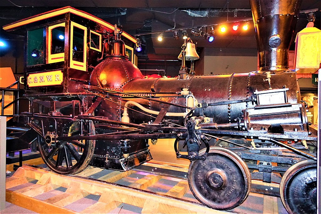 """Pioneer"" Locomotive (Chicago History Museum)"