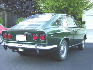 Kammback - 1969 Fiat 850 Coupe