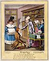 'Bumpology'; a phrenologist at work, caricature 1826 Wellcome L0031340.jpg