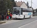 'Isaszeg, vasútállomás bejárati út' buszmegálló, vonatpotló busz, 2019 Isaszeg.jpg