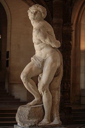 Rebellious Slave - Image: 'Rebellious Slave' Michelangelo JBU81