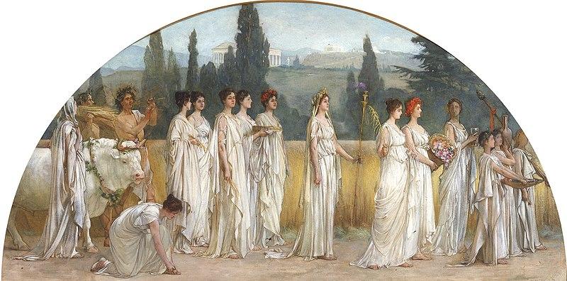File:'Thesmophoria' by Francis Davis Millet, 1894-1897.jpg