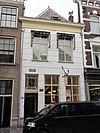 foto van Pand - voorhuis met vast achterhuis - met verdieping onder met rode hollandse pannen gedekt schilddak