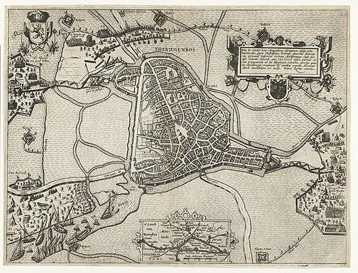's-Hertogenbosch tevergeefs belegerd door Maurits, 1601, RP-P-OB-80.597