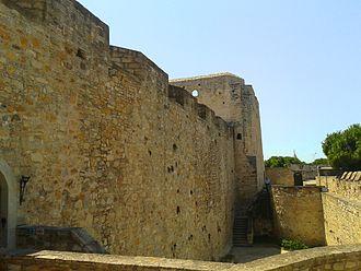 Çeşme Castle - Çeşme Castle from the North