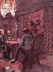 La Partie de Bridge au clos Cézanne