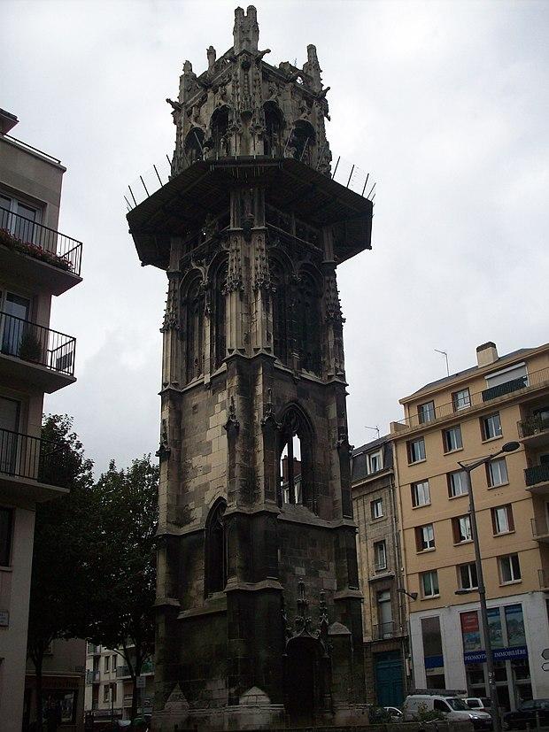Monument historique à Rouen