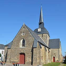 The church of Saint-Jouin, in Moisdon-la-Rivière