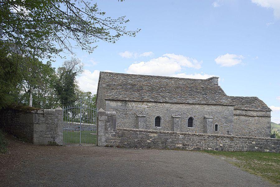Église Saint-Maurice de Saint-Maurice-d'Échazeaux, vue extérieure
