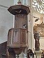 Église Saint-Nicolas de Crèvecœur-le-Grand - Chaire - IMG 20190707 094339 04.jpg