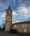 Église Sainte-Agathe de La Brillanne, clocher ouest.jpg