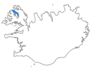 Ísafjarðardjúp - Location of Ísafjarðardjúp in Iceland