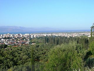 Aigio Place in Greece