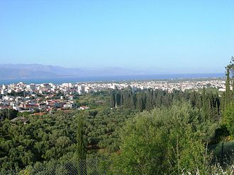 Aigio - The town of Aigio