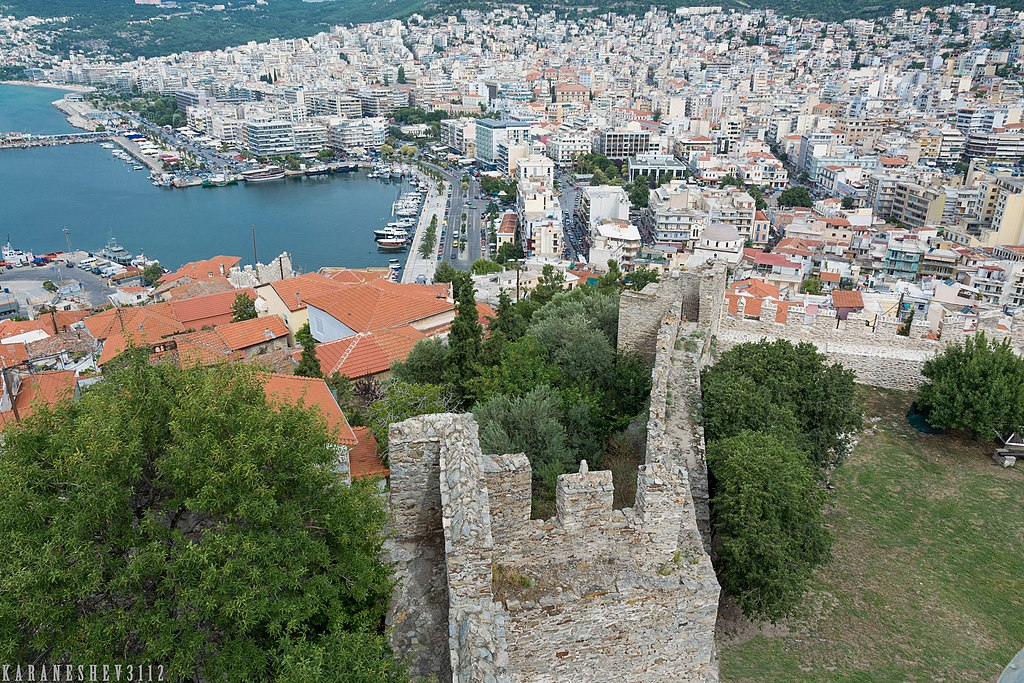 Kavala Castle - Full day tour of Kavala | Summer tour of Romania ~ Bulgaria ~ Greece
