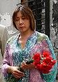 Анита Цой на мемориале школы №1 г. Беслана. 2009 г..jpg