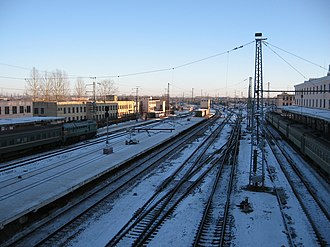 Bologovsky District - Bologoye railway station.