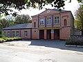Будинок культури, де була меморіальна дошка на честь перебування в Хоролі Г.І.Петровського.JPG