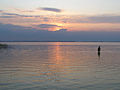 Вечір на озері Світязь.JPG