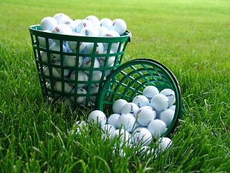 Golf equipment - Golf balls
