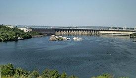 第聂伯河水电站