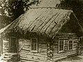 Дом в деревне Зилим-Караново, где родился Мажит Гафури (1900s).jpg