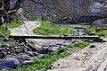 """Импровизиран мост на потокот во """"Долни Дисан"""".JPG"""