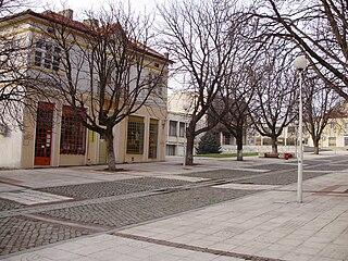 Isperih Place in Razgrad, Bulgaria