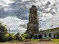 Колокольня церкви Иоанна Предтечи в селе Чистополье Котельничского района Кировской области.jpg