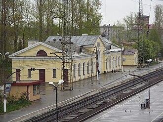 Mga - The railway station