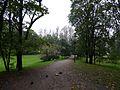 Парковая зона между прудами между Петергофским шоссе и улицей Чекистов Красносельского района Санкт-Петербурга.jpg