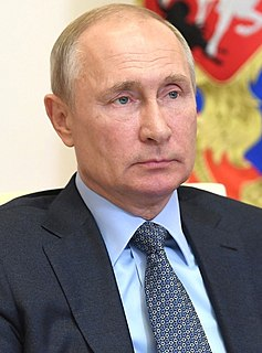 Vladimir Putin President of Russia from 1999 to 2008 and again since 2012
