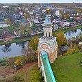 Свечная башня Борисоглебского монастыря, Торжок - panoramio (1).jpg