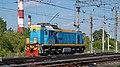 ТЭМ18ДМ-3088, Россия, Челябинская область, станция Тракторострой (Trainpix 164583).jpg