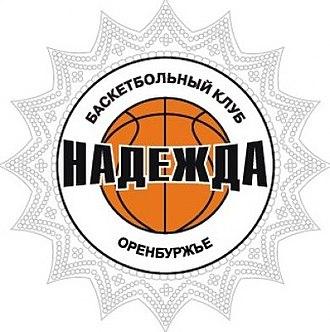 """Nadezhda Orenburg - Image: Эмблема Профессионального Баскетбольного Клуба """"Надежда"""" (Оренбург)"""