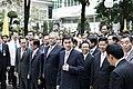 นายกรัฐมนตรี และคณะรัฐมนตรี ลงนามถวายพระพร พระบาทสมเด็ - Flickr - Abhisit Vejjajiva (14).jpg