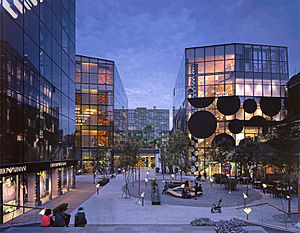 Sanlitun - One of many malls in the district