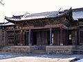 常家庄园祠堂正门内侧 20130212.jpg