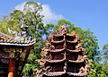 玉尊宮龍鳳八卦爐 Dragon-Phoenix Bagua Furnace in Yuzun Temple - panoramio.jpg