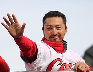 Ryosuke Kikuchi Japanese baseball player