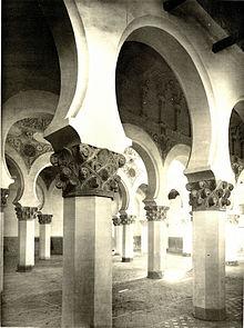 Synagogue Santa María La Blanca de Tolède — Wikipédia