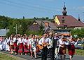 015 Heilige Messe im byzantinischen Ritus und Erntedankumzug 2013 am 18. August in Mokre.JPG