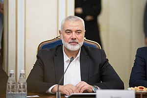 Ismail Haniyeh became the prime minister of the Palestinian National Authority in 2006. 03-03-2020 Ismail Haniyeh.jpg