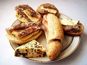 English: silesian sandwiches
