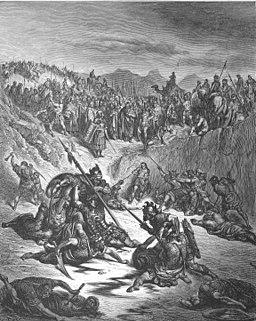 078.Combat between Soldiers of Ish-bosheth and David