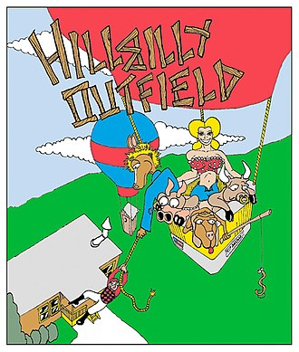 Hillbilly Outfield: Kentucky Derby party - Image: 07art