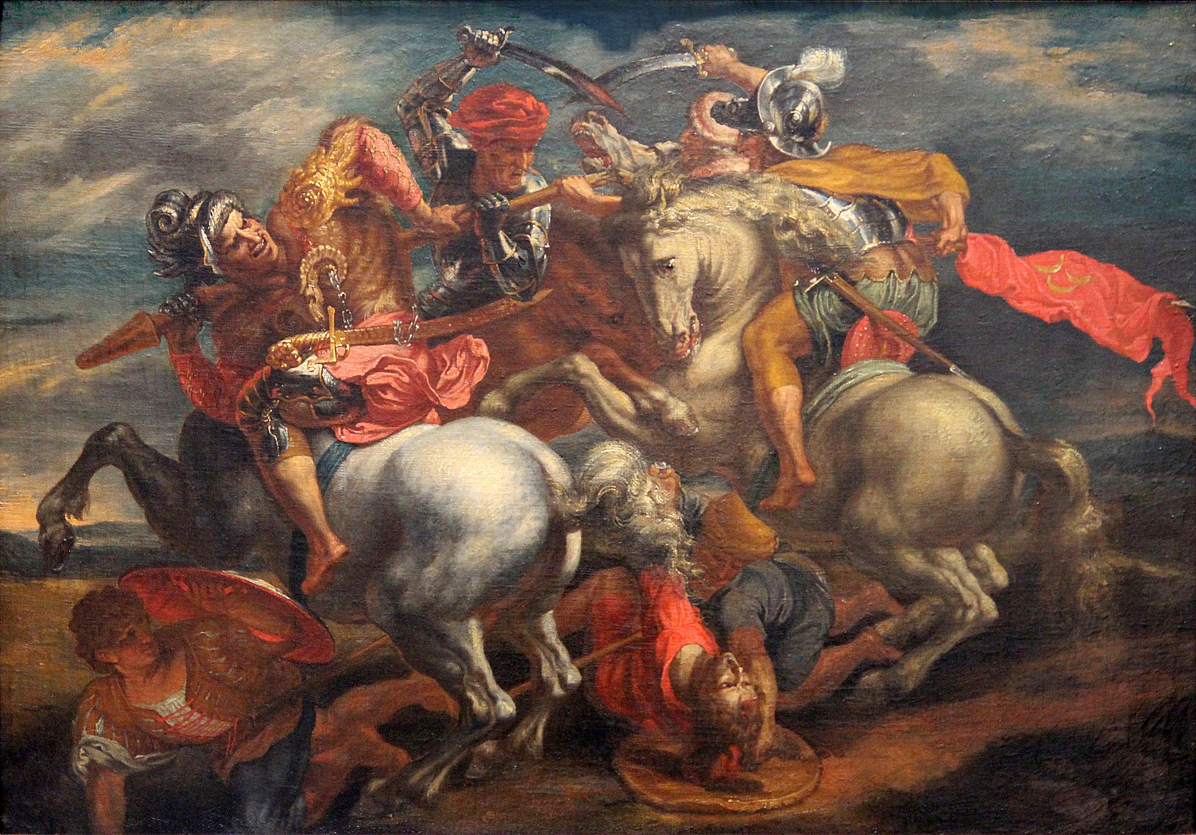 0 La bataille d'Anghiari - Rubens (1)