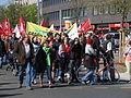 1. Mai 2013 in Hannover. Gute Arbeit. Sichere Rente. Soziales Europa. Umzug vom Freizeitheim Linden zum Klagesmarkt. Menschen und Aktivitäten (164).jpg